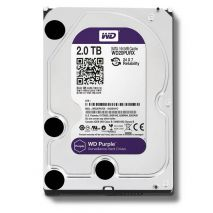 HDD WESTERN DIGITAL WD20PURX PURPLE SURVEILLANCE HARD DRIVE 2TB 3.5'' SATA3