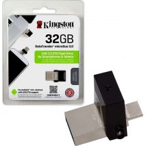 Kingston Flash Disk 32GB DataTraveler MicroDuo 3.0 USB Micro-B, USB 3.0 (DTDUO3/32GB)