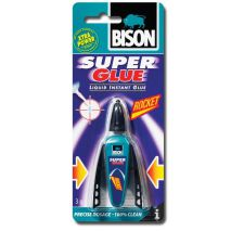 Bison Ισχυρή κόλλα super glue rocket 3g TH126308062