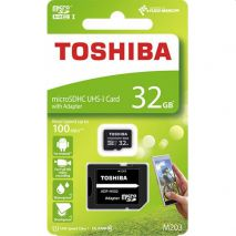 TOSHIBA Κάρτα Μνήμης Micro SDHC 32GB UHS-I incl. +SD adapter
