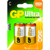 GP alkaline battery LR14 2pcs