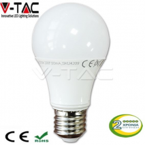 Λαμπτήρας Led E27 10 Watt A60 4500K V-TAC