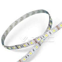Ταινία led 14,4W/m  RGB 60 smd leds  5050/m IP20 V-TAC