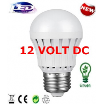 12V/DC Λαμπτήρας Led E27 7 Watt Ψυχρό λευκό SMSQP-A003 for solar power application
