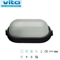 Light outdoor wall mounted black ARES-S1 VITO