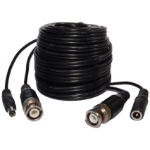 Kαλώδιο CCTV (έτοιμο)Video cable BNC + power cable, 30 meter EN-CPV30