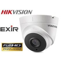 HIKVISION DS-2CE56D1T-IT3 Έγχρωμη κάμερα DOME HDTVI 1080p EXIR 2MP IR Led 40m