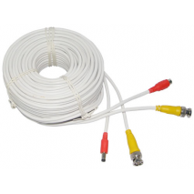 UU-DIY100 30,48m Καλώδιο CCTV (έτοιμο)Video cable BNC + power cable