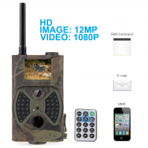 HC300M 12MP 1080P Κάμερα Παραλλαγής 2G MMS/SMS/Email GSM