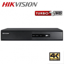 HIKVISION DS-7204HQHI-F1/N TURBO HD 4K (HDTVI) DVR 4 καναλιών και 1 ήχο HDMI και BNC OUT